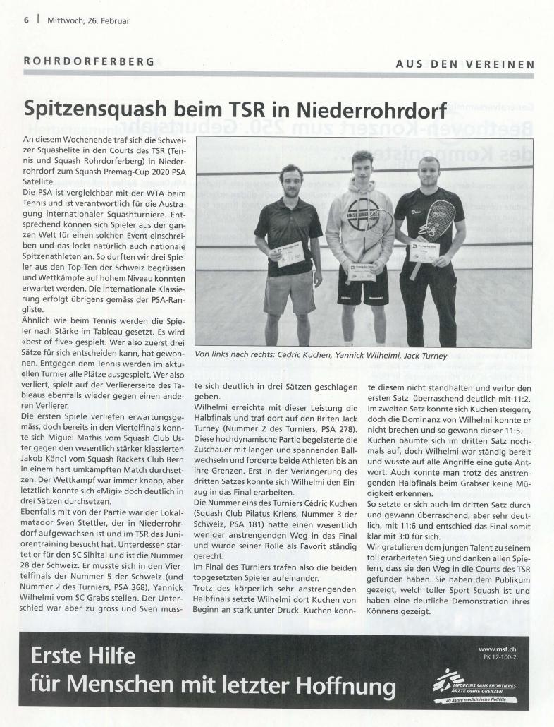 TSRohrdorferberg_Squash_Turnier_Februar_2020